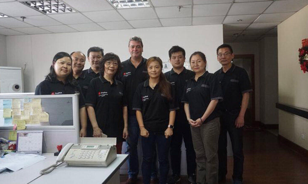 Team in China
